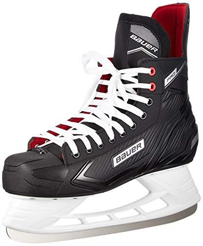 Bauer Unisex-Kinder Pro Skate Feldhockeyschuhe, Schwarz (Schwarz-Weiss-Rot-Si 900), 38.5 EU