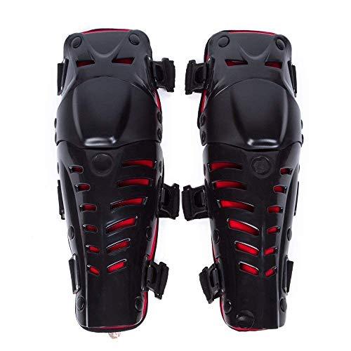 Wildken Knie Ellenbogen Knieprotektoren Lange Schienbeinschutz Rüstungsschutz Schienbeinschoner Armschützer Schutzausrüstung für Motocross Motorrad Fahrrad Skateboard-Fahrrad
