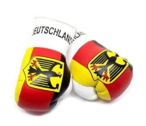 kenai dark Mini Boxhandschuhe Deutschland Adler,Mini Boxing Gloves Germany Eagle, Mini guantes de boxeo del Águila de alemania