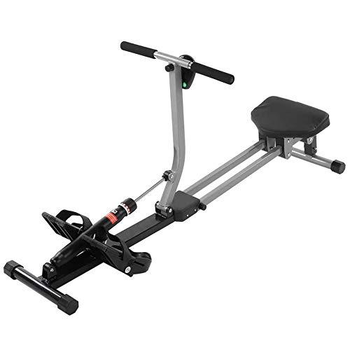 SNAWEN Rudergerät, Indoor Faltbares Rudergerät Einstellbarer Widerstand Home Gym Rudergerät Workout Fitnessgeräte Gewicht Cardio Fitnessgeräte