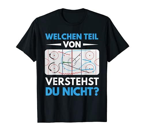 Eishockey Unihockey Hockey Sport Coach Trainer Geschenk T-Shirt