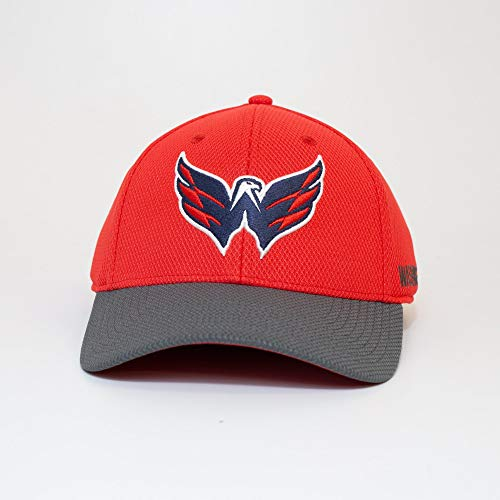 adidas Washington Capitals 2019/20 NHL Coach Flex Fit NHL Cap, L/XL