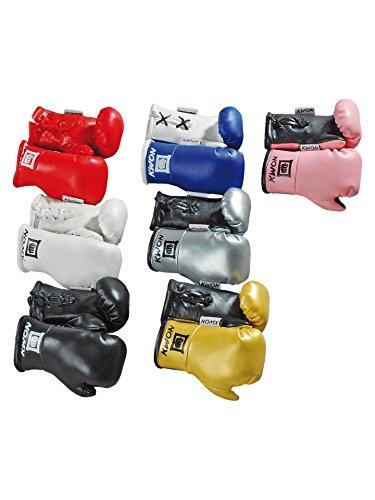Kwon Schlüsselanhänger Mini Boxhandschuhe Farbe: Weiss,