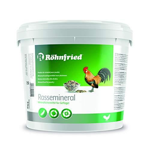 Röhnfried Rasse-Mineral 5 kg I Mineralfutter für Geflügel I unterstützt Federbildung, Knochenbau & Feste Eierschalen
