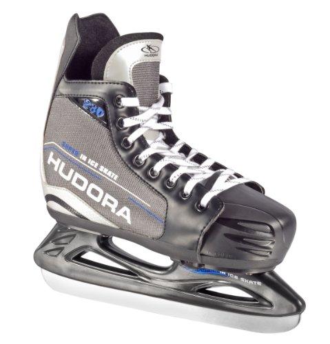 HUDORA Eishockey-Schuhe verstellbar, Gr. 28 - 31 - Schlittschuhe Eishockey - 44620