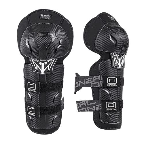 O'NEAL   Knieprotektor   Kinder   Motocross Enduro   Verstellbare & elastische Klettbänder, nach (EU) 2016/425, Robuste Pastikschalen   Pro III Youth Knee Guard   Schwarz   One Size