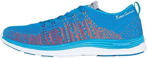 Reece Hockey Hyper Knitted Sneaker - aqua blue - multi, Größe Reece:41