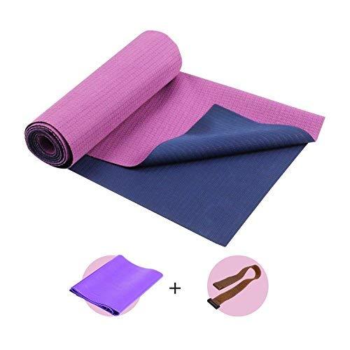 SKL Reise Yogamatte Pilates Faltbare und rutschfeste Matte f/ür Yoga Fitness D/ünne 181 cm x 67 cm // 1 mm leichte